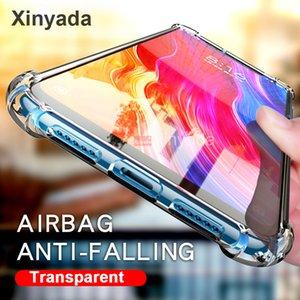 Étui transparent pour Xiaomi Redmi K20 Pro Mi 9T Pro Mi9T K20 Housse de protection en silicone souple TPU pare-chocs antichoc de luxe