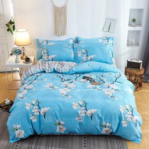 diseñador de edredones de cama conjuntos de mármol conjunto ropa de cama estampada juegos de cama funda de almohada de la cama de matrimonio hace