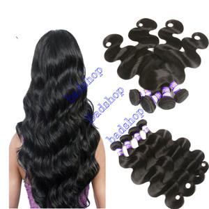 9A Malaysian Virgin Körper-Wellen-Menschenhaar-Webart Virgin Malaysian Haar einfärbbar Natural Color Doppeleinschlag Welliges Haar-Verlängerungen