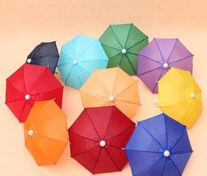 Мини Моделирование Umbrella Для детей Игрушки Cartoon Многие цвета Зонтики декоративные фотографии реквизита Портативный и легкий SN2140