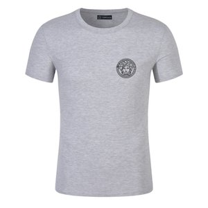 19SS Luxury Mens Designer T Shirt High Quality Men Women Couples Casual Short Sleeve Mens Round Neck Tees 4 Colors