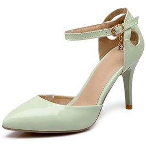 Fairy2019 Air Side Высокий каблук Высокий штраф с волей сандалии 40-41-42-43 Краска Лапша Женская обувь на долгие годы жизни Y15
