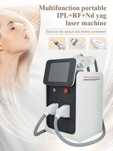 Multifunctional IPL+Nd yad Hair Epilator Pigment Removal Freckle Removal Skin Rejuvenation Machine