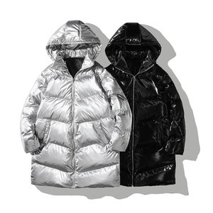Winter Plus size 5XL Thicken Warm Cotton-Padded Jackets Fur Hooded