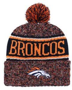 Top venda Denver gorro DEN beanie Sideline tempo frio reverter esporte Cuffed Knit Hat com Pom Winer crânio Cap 00