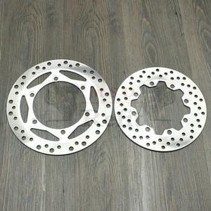 Kir Motosiklet Ön Disk Fren Rotor İçin Kawasaki KL250 Süper Sherpa 1997-2007 ön ve arka fren diski