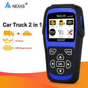 Nexas NL102P OBD2 Scanner Car Truck DPF Régénérer huile légère Remise à zéro pour Diesel Heavy Duty Trucks Diagnostic Obd 2 Outil de diagnostic