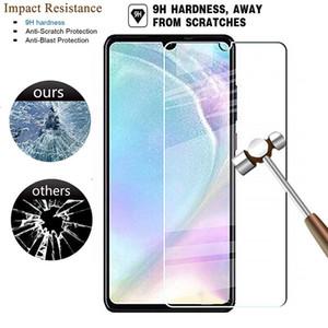 New Fashion Tempered Glass Screen Protector for Huawei P30 P20 P10 plus P9 Lite Mini P8 Lite HD shielding screen protector