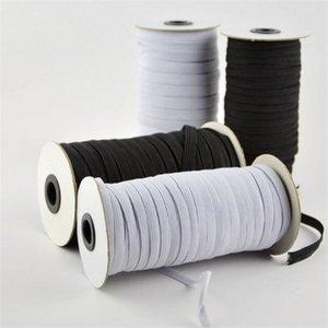 Household 100 Yards Length 3MM 5MM Width Braided Elastic Band Cord Knit Band for Sewing DIY Bedspread Tool
