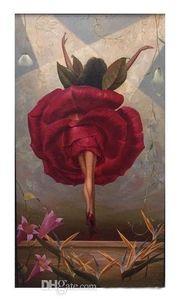 Владимир куш-танцор фламенко высокое качество абстрактное настенное искусство масляная живопись на холсте домашний декор мульти размеры рамки варианты 200422