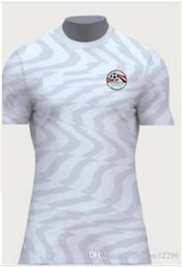 Yeni Mısır M. SALAH ev kırmızı uzakta beyaz Futbol Formaları A. HEGAZI M. ELNENY KAHRABA RAMADAN Özel Futbol Gömlek 2019