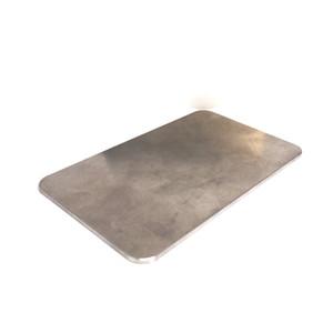 Aluminio 3 x 5 pulgadas Colofonia Placa de enfriamiento de cera Colección Frío de placa Extracción Concentrado de aceite Accesorio para vidrio Tubería de agua Cera para fumar