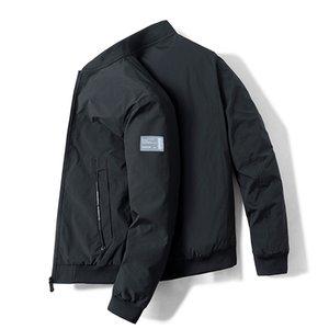 Мужские куртки мода весенние осень мужская куртка пальто повседневная подставка воротник ветровка уличная одежда пальто Размер M-4XL Jaquetas Masculinas