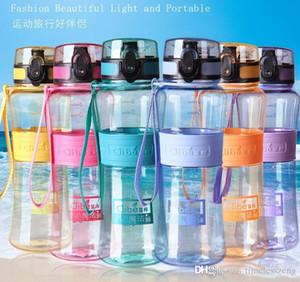 acqua mago bottiglia creativo 450ml 600ml di tenuta resistente al calore bottiglia di plastica tazza di salute portatile Outdoor tazza di sport della tazza del regalo di festa
