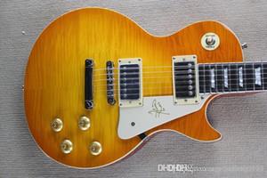 Wholesale vente chaude de haute qualité standard Sunburst guitare électrique