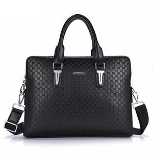 high quality men's briefcase bag men bags 2019 fashion designer crossbody pu leather messenger bag men free shipping