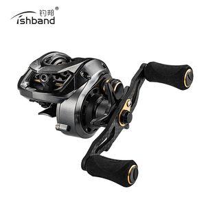 2019 Новые Fishband GH100 катушка baitcasting 7.2:1 маленький наживка литья рыболовная катушка для форелевого окуня тилапия рыбалка