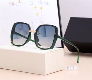 Transparent women sunglasses designer sunglasses gradient colorful lens big frame sunglasses anti-UV lover gift fashion driving eyeglasses