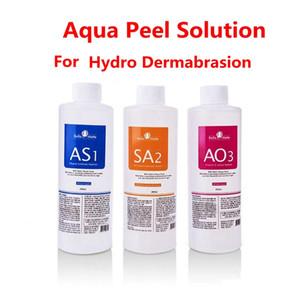 Aqua Clean Solution / Aqua Peel Konzentrierte Lösung 400 ml pro Flasche Aqua Facial Serum für die Hydra Facial Dermabrasion Hautpflege