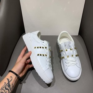 2020 latest official couple models small white shoes original development high-end custom full leather fabric casual sports shoes running 8