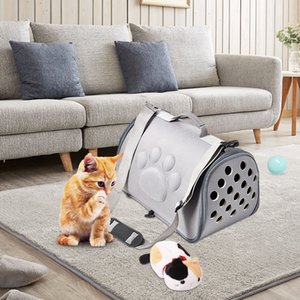 EVA Dogs Cat Folding Pet Carrier Cage Collapsible Puppy Crate Handbag Carrying Bags Pets Supplies Transport Chien Accessories