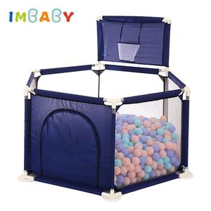 IMBABY parque infantil para los niños del bebé Bolas de piscina juguete corral por 0-6 años de bebé Ball Pool Bola Fence niños Carpa