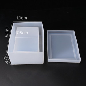 Mold Silicone Mould Resin O Transparent Flower Molds DIY Storage Tissue Box Craft Epoxy Resin Decorative For Jewelry Kitchen Storage Dr Omun