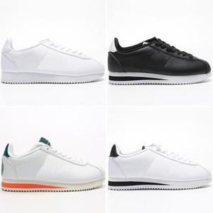 New Tailwind Betrue Cortez Grund Mann eine Frau Laufschuh Designer Weiß Orange Shorts und hohe Socken Nylon Prem QS Classic Athletic Schuhe)