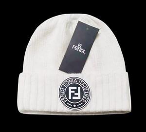 alta calidad de lujo unisex sombreros de invierno de hombres mujeres diseñadores de punto de lana de punto Beanie sombrero del capo Hombre Gorros Gorros Touca espesa el casquillo caliente