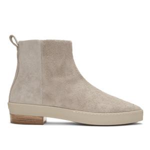 La venta caliente-uine del cuero del ante los zapatos hechos a mano invierno de los hombres del Mens del diseñador de la cremallera Botas Casual 13 # 25 / 20D50