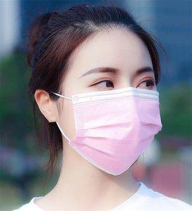 Notizie per adulti Azioni consegna di giorni Bag 3 strato non tessuto polvere FaMask ispessite Bocca mascherina mascherine Alcohol Ff YKE6