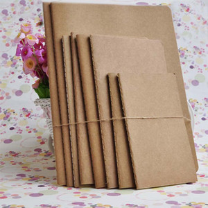 Blank Kraft paper notebook A4 A5 B5 Student Exercise book diary notes pocketbook school study supplies 30 sheets AU US free ship