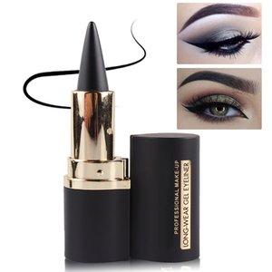 Женщины Долговечность Eye Liner Pencil Gel Eyeliner наклейки Eyeliner Waterproof Pen глаз Косметика Макияж Инструменты