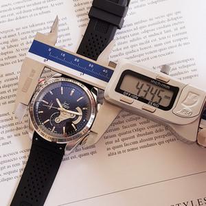2020 reloj de lujo para hombre de la correa de silicona Rubbe mecánicas del acero inoxidable de los relojes automáticos de los hombres movimiento deportivo Auto-viento Tabla de pulsera