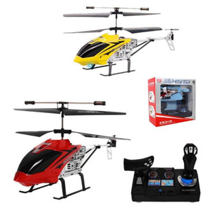 New 3.5-channel large console alloy drop-resistant remote-control aircraft simulation sound helicopter model aircraft 2.4G frequency
