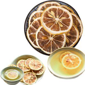 Hot Lemon Tea limón Rebanadas de los frutos secos de té recién Empapado Cha bajar de peso té perfumado alimentos saludables