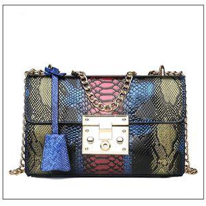 Pembe Sugao yeni stiller zincir çanta kadın omuz çantası tasarımcı crossbody çanta lüks çanta Serpantin cebi pu deri BHP