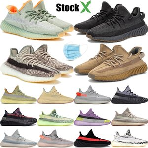 Yecheil Yeezreel Cloud White Citrin Synth Lundmark Antlia Black Static Reflective Kanye West zapatos casuales hombres mujeres zapatillas deportivas 36-48