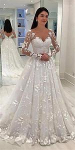 Parti Giyim Moda Seksi Stil Gündelik Giyim Kadın Düğün dizayn edilmiş elbiseler Dantel Çiçek Uzun Kollu V Yaka Kadın yazdır