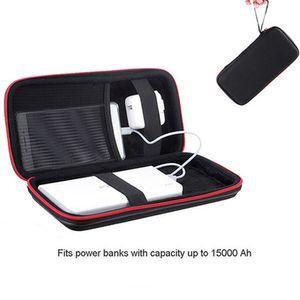 PU Hard Power banque de stockage cas pour Anker Rock PISEN Baseus batterie externe banque de puissance Portable Personnalisé Voyage Pouch Sac