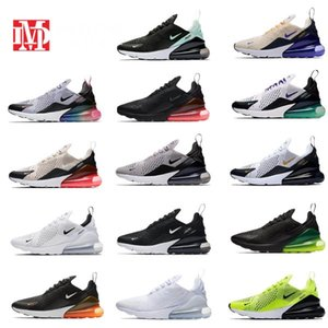 2019 new 270 Running shoes Airs Mens Maxes 270s Triple Black White 27c Women Max Sports Outdoor Casual Sneakers Trainers