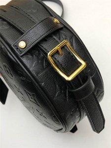 LoVuitto designer Auth Boite Chapeau Souple M45167 Monogram Pm Empreinte Shoulder Bag Gibeciere Size:20.0 x 22.5 x 8.0 cm