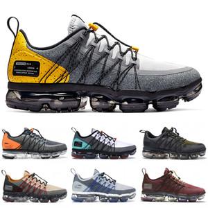 2019 nike vapormax Run Utility Mens Womens Designer Running Sneakers lupo grigio giallo borgogna cotta deserto minerale Sport scarpe da ginnastica US 7-11