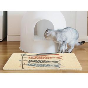 Pet Cat Litter Box Mat Pet Cage Sleeping Carpet For Cat Dog