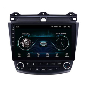 10,1-Zoll-Android 9.0 Auto GPS-Multimedia-Player für 2003- 2007 Honda Accord 7 mit USB-AUX WIFI Stützrearviewkamera OBD2