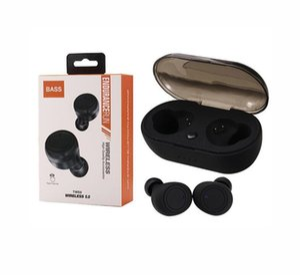 TWS5 Bluetooth 5.0 Auricolari TWS auricolari cuffie auricolari cuffie senza fili di sostegno di controllo tocco senza fili per cellulare