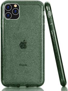 iphone için Sağlam Hibrit Yumuşak TPU Sert PC Glitter Parlak Darbeye Temizle Telefon Kılıfı Xr Xs Max 11 11 Pro Max Premium Kalite x