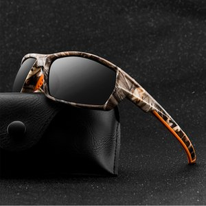 2020 Sunglasses Camouflage Sports Polarized Men Square Thick Frame Outdoor Highend Sun Glasses Sunglasses For Men