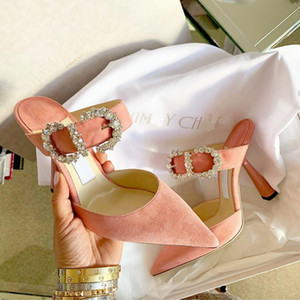 Мода вечеринки Обувь для женщин дамы сандалии высоких каблуков Бархатной Свадебной обуви Три цвета Свадьбы Свадебной обувь