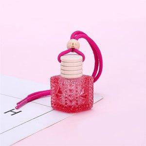 Car fragrance diffuser perfume bottles empty bottles car color aromatherapy bottles car perfume pendant T3I5788
